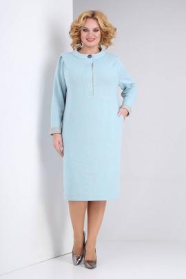 Платье Viola Style 0981 ментол