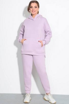 Спортивный костюм LeNata 21237 лиловый