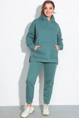 Спортивный костюм LeNata 21237 изумруд