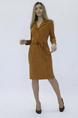 Платье Effect-Style 819 терракотовый