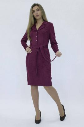 Платье Effect-Style 819 бордовый