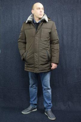 Пальто DOMINION 1934D 0C75-P49 182 темно-коричневый