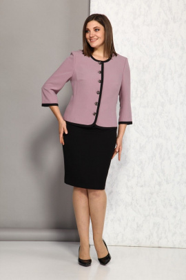 Женский костюм Karina deLux B-341А розовый-черный