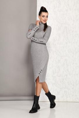 Платье Karina deLux М-9947 серый