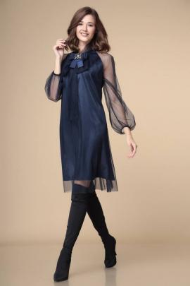 Платье Romanovich Style 1-1913 синий