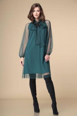 Платье Romanovich Style 1-1913 изумруд