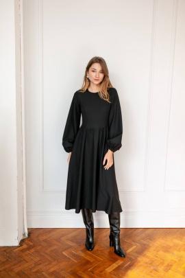 Платье KRASA 256-21 черный