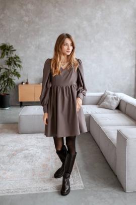 Платье KRASA 274-21 шоколад