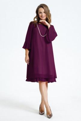Платье TEZA 250 фиолетовый