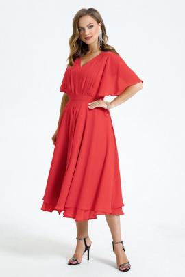 Платье TEZA 1455 терракот