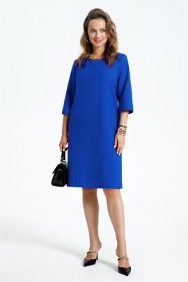 Платье TEZA 2946 василек