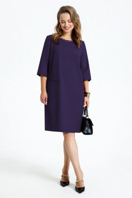 Платье TEZA 2946 черничный