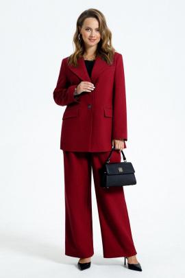 Женский костюм TEZA 2953 красный