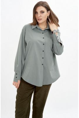 Рубашка GRATTO 4137 серый