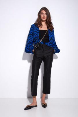 Блуза Favorini 31861 василёк