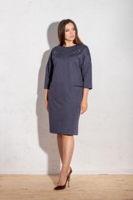 Платье Angelina 634 синий
