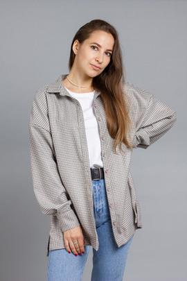 Рубашка Mirolia 991 бежевый