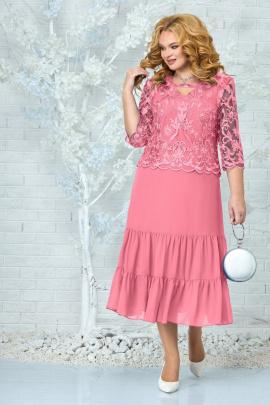 Платье Ninele 2305 темная_пудра
