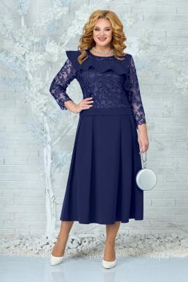 Платье Ninele 5849 синий