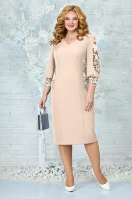 Платье Ninele 5859 бежевый
