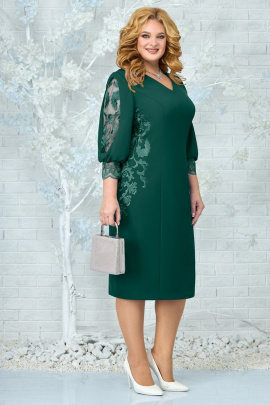 Платье Ninele 5859 изумруд