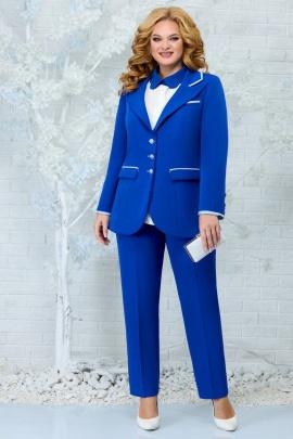 Женский костюм Ninele 5862 василек-голубой