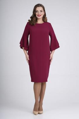Платье ELGA 01-719 вишня