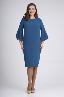 Платье ELGA 01-719 синий