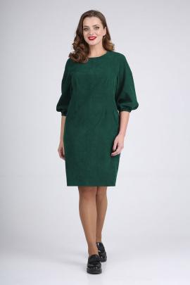 Платье ELGA 01-720 зелень