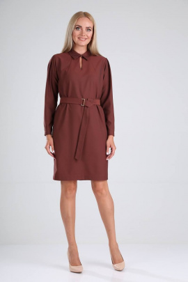 Платье Vilena 728 шоколад