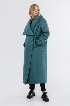 Пальто PiRS 1993 изумруд