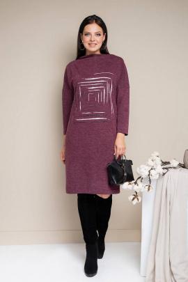 Платье Daloria 1616 бордовый