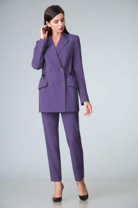 Женский костюм Le Collect 306 фиолетовый