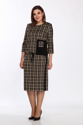 Комплект Lady Style Classic 2110/3 бежевый_черный