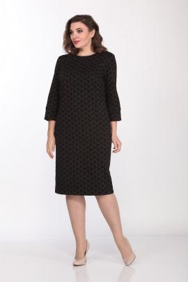 Платье Lady Style Classic 2196/1 черный_золото