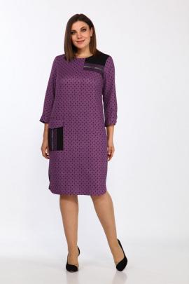 Платье Lady Style Classic 2455 фуксия