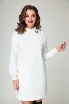 Платье T&N 7113 молочный