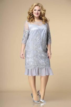 Платье Romanovich Style 1-1849 серебро