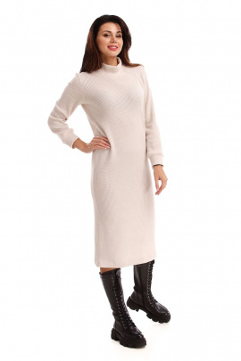 Платье IUKONA 5004 бежевый