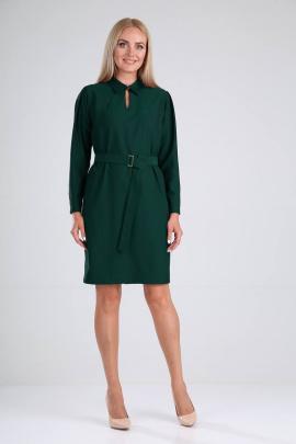 Платье Vilena 728 темный_изумруд