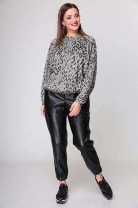 Комплект Michel chic 1270 серый/черный