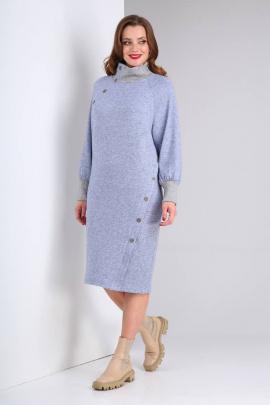 Платье Viola Style 0987 голубой