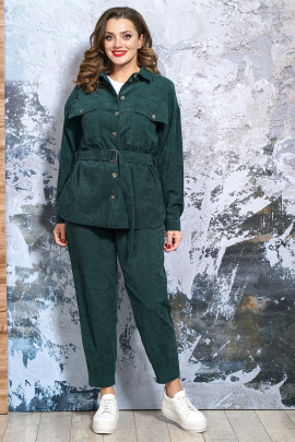 Женский костюм Белтрикотаж 4354 изумруд