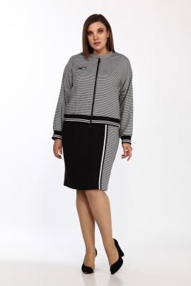 Комплект Lady Style Classic 2385/1 серый-черный