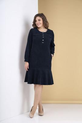 Платье Tensi 319 тёмно-синий