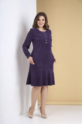 Платье Tensi 319 ежевика