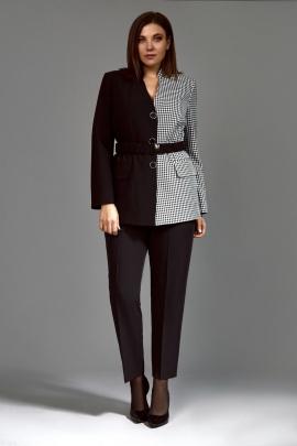 Женский костюм Mubliz 623 черный-клетка