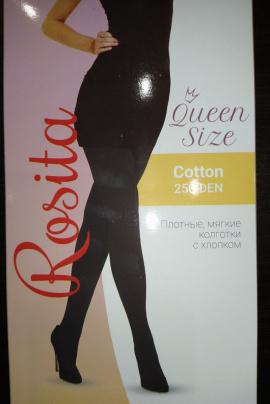 Колготки Эра Rosita_Cotton-250 черный