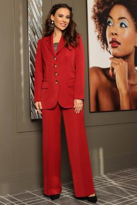 Женский костюм Мода Юрс 2612 бордо