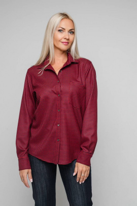 Рубашка Avila 0871 красный